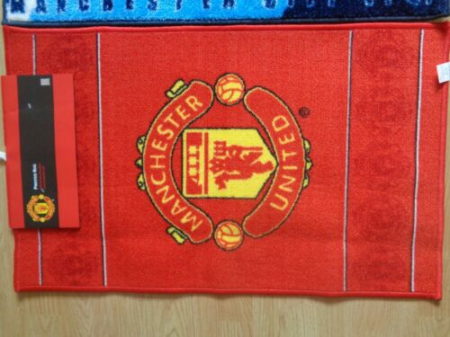 Officiel Football Tapis-Manchester United-Manchester City 50X80CMS-Neuf