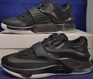 45df351326ff 2015 Nike KD VII iD Black White Kevin Durant SZ US 7 ( 704380-981 ...