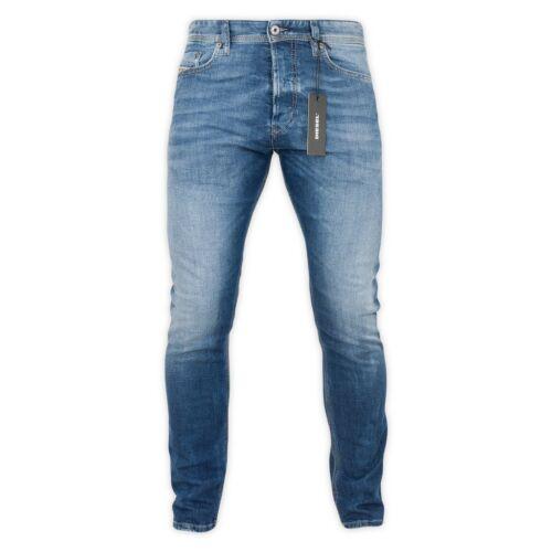 DIESEL Jeans Slim Fit-DIESEL Tepphar Slim Fit Denim Jean-Vari Lavaggi