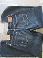 American Eagle Loose Jeans Mens 32x32 Dark Sand Wash Free Ship