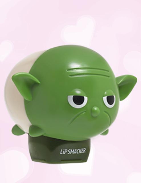 LIMITED EDN ! Lip Smacker Tsum Tsum Yoda - Jedi Master Mint