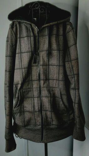 Op Men's Hoodie Sweatshirt Size Med 38-40 Brown Bl