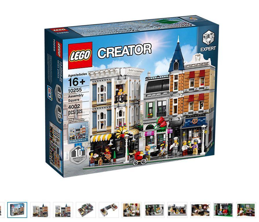 2017  nuovo LEGO 10255 Assembly Square Creator  per poco costoso