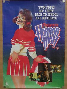 return-to-horror-high-1987-uk-video-shop-promo-film-poster