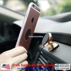 Universal-Magnetic-Car-Mount-GPS-Cell-Phone-Holder-Stand-iPhone-8-7-Plus-S7-S8