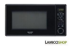 Sharp R 409yk Sensor 1 3 Cu Ft 1000w Microwave Oven W 12