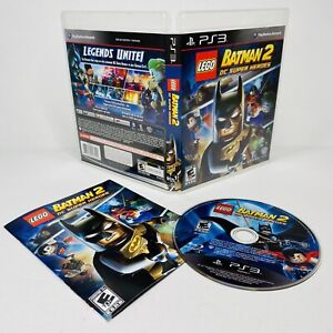 LEGO Batman 2 DC Super Heroes Sony PlayStation 3, 2012 PS3 Complete TESTED WORKS