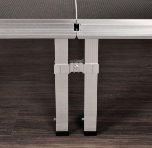 Bullstage Fußverbinder einfach für 60 mm vierkant Fuß für 2 Füße