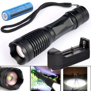Super-Bright-80000LM-T6-LED-Focus-Flashlight-Torch-Zoomable-18650-Batt-Charger