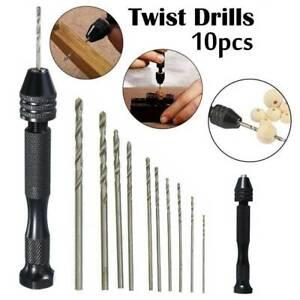 10X-Mini-Tiny-Micro-Twist-Drill-Bits-Set-0-6-2mm-Hand-DIY-Model-Craft-Tool-Bit