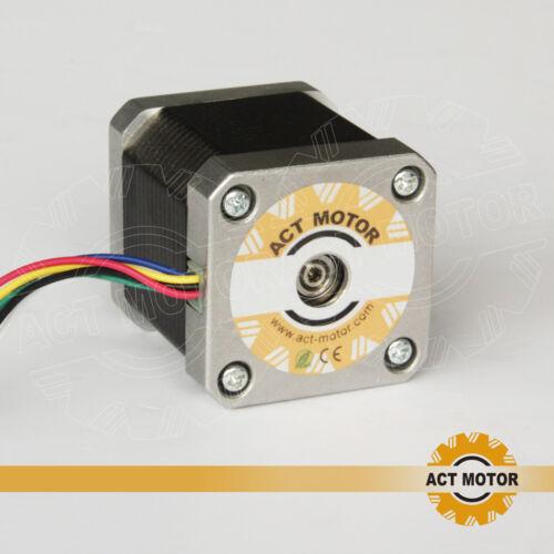 Act motor GmbH 20 PCs nema 17 motor PAP 17hs5425 2.5a 48mm 0.58n.m 3d de impresora