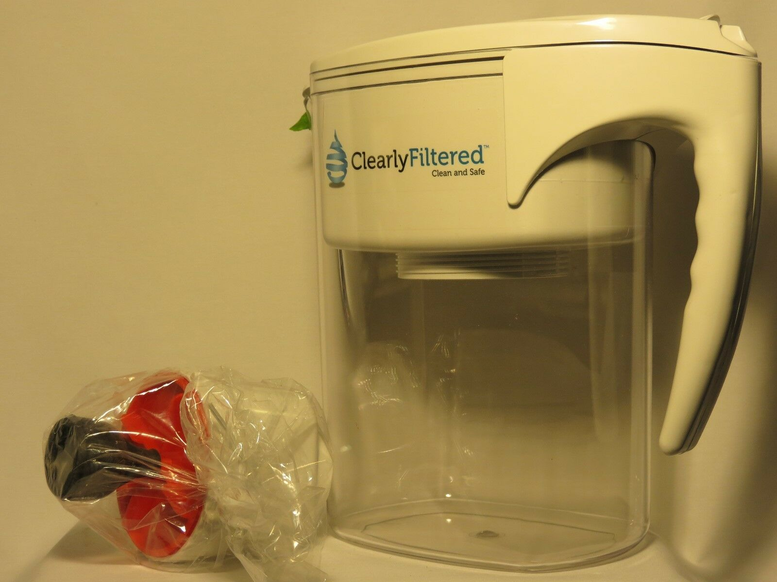 Clearly Filtered Clean Water Filter Pitcher