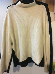 560888 nWT Prologue Women/'s Mock Turtleneck Pullover Sweater