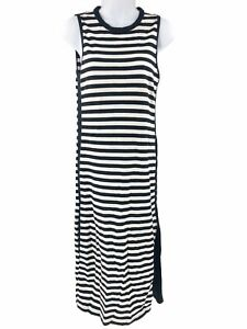 Rag-amp-Bone-Black-White-Striped-Dress-XS