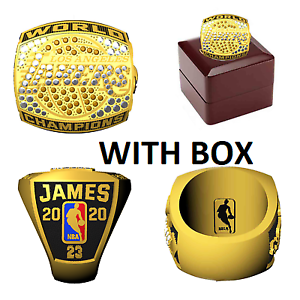 Nba Championship Rings 2020 Los Angeles Lakers James Pre Sale See Description Ebay