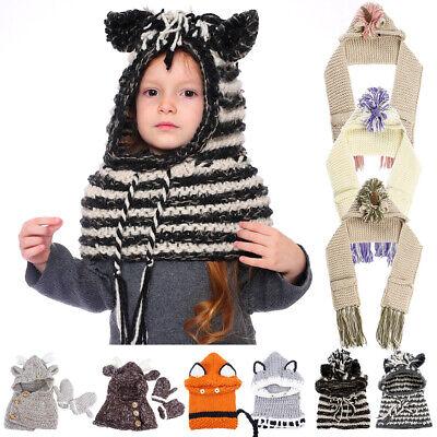 Capace Inverno Caldo Bambino Kids Ragazza Ragazzo Bambini Fancy Lavorato A Maglia Crochet Beanie Hat Cap New-mostra Il Titolo Originale