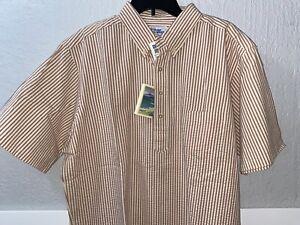 Vintage Reyn Spooner Herren L Hemd Casual Aloha Hawaii Seersucker BENGAL STRIPE