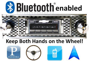 Details about Bluetooth Enabled 1955 Bel Air & Nomad 300 watt AM FM Stereo  Radio iPod, USB