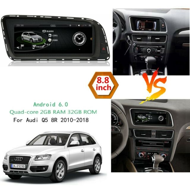 For Audi Q5 A4 A5 GPS Navigation Bluetooth Video Android