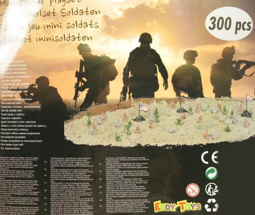 soldati battaglia esercito Playset NUOVO MINI PERSONAGGI GIOCATTOLI SET 300 St