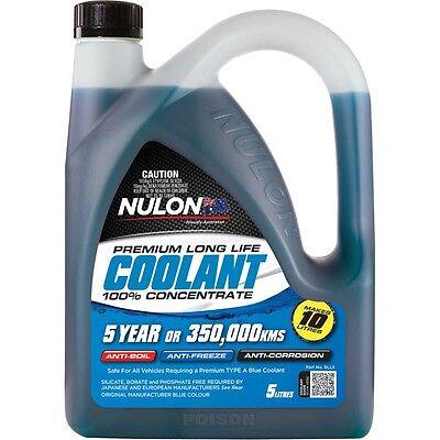 Nulon Concentrate Blue COOLANT Long Life Anti-Freeze Anti-Boil 5 Litre