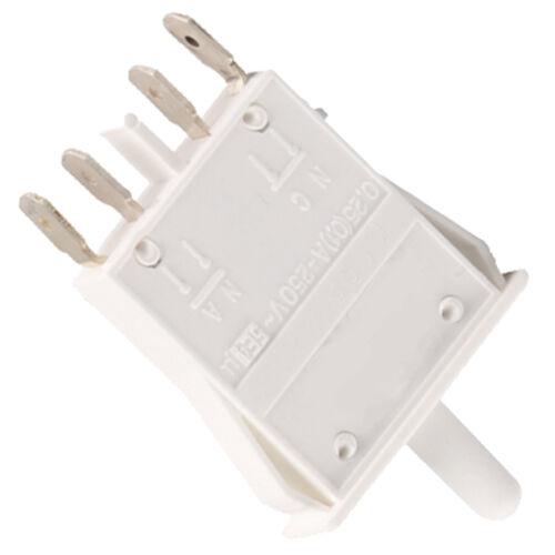 Porte Interrupteur Lampe ON OFF Bouton poussoir pour Bosch Siemens Réfrigérateur Congélateur