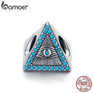 BAMOER-Authentic-S925-Sterling-silver-Charm-Bead-Magic-Eye-For-Women-Bracelet