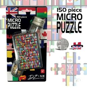 Mini-Flags-Jigsaw-Puzzle-In-A-Test-Tube-Stocking-Filler-188-flags-of-The-World
