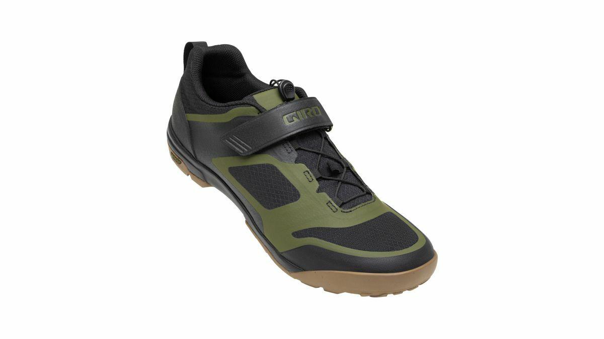 Giro Ventana Fastlace MTB Fahrrad Schuhe schwarz grün 2020