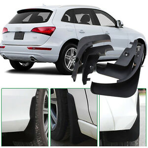 For Audi Q5 4pcs High Quality ABS Mud Flaps Splash Guards Fender Mudguard