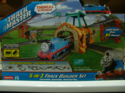 THOMAS /& FRIENDS 5 IN 1 TRACK MASTER MOTORIZED TRAIN TRACK SET
