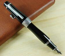 Duke Memory Charlie Chaplin Fountain Pen , Black Big Size Style Gift Pen