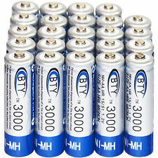 24x AA 3000mAh 1.2 V Ni-MH rechargeable battery BTY cell for MP3 RC Toys Camera