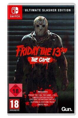 Switch Spiel Friday The 13th Ultimate Slasher Edition Game Freitag Der 13 Neu Ebay