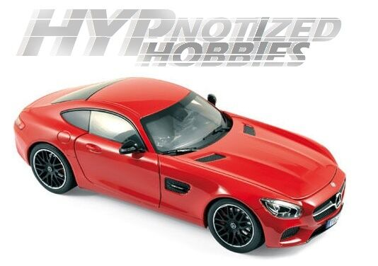 Norev 1 18 2015 Mercedes-Amg Gt Modellino red 183496