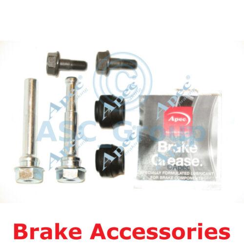 Apec Braking Disc Brake Akebono Caliper Slider Bolt Guide Pin Kit CKT1062