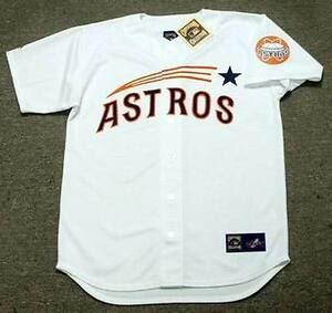 brand new 1bb4c b5d34 Details about ALEX BREGMAN Houston Astros 1960's Majestic Throwback Home  Baseball Jersey