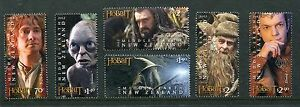 New Zealand 2012 Scott 2434-39 Lord of the Rings The Hobbit Stamps NH