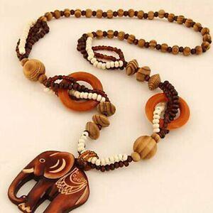 pullover-elefanten-anhaenger-handgefertigte-holz-perle-lange-halskette