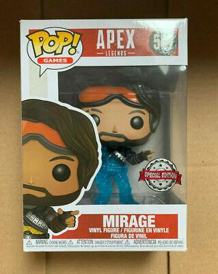 Mirage Translucent US Exclusive Funko Pop Vinyl Figure Gift Apex Legends