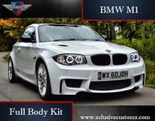 BMW 1M Full Body Kit BMW 1 Series E82 or E88 BMW M1 Bodykit BMW Coupe M Body Kit