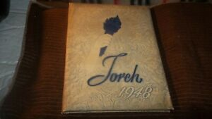 1948-MILLVILLE-HIGH-SCHOOL-YEARBOOK-MILLVILLE-NJ-TORCH-ABOUT-UNUSED-NO-WRITING-O