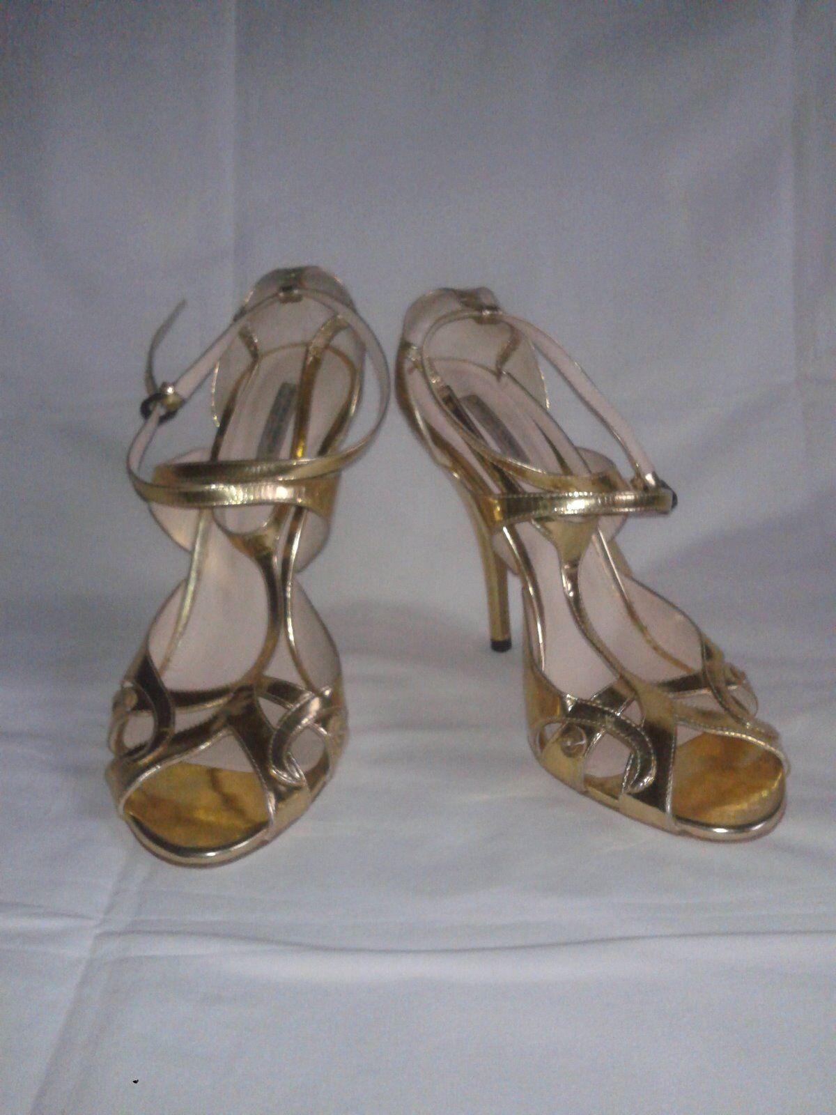 Sandalo BOTTEGA taglia VENETA color Oro taglia BOTTEGA taglia 40 8751d0   83d622