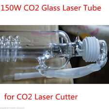 150W CO2 Laser Tube, Water Cooling Glass Tube CO2 Laser Cutter-1650mmL, 80mm Dia