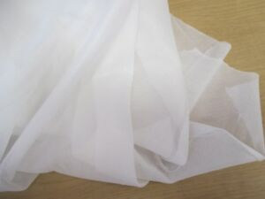 80g White Cut Away Embroidery Stabiliser//Backing x24cms 10m