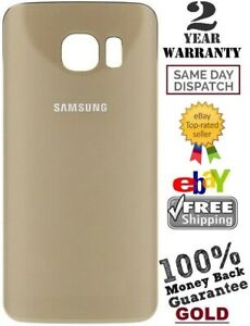Replacement-For-Samsung-Galaxy-S6-G920-Battery-Back-Door-Cover-Glass-GOLD