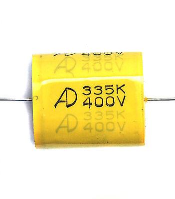 10pc MEA Capacitor 474k 474 0.47uF K 630V ±10/% Axial AID Taiwan