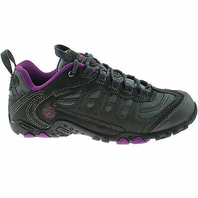 Señoras Hi-tec Impermeables Hiking Shoes Talla Uk 4 - 8 oscuro púrpura Penrith bajo