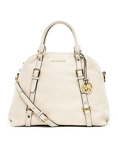 b3caebddceba Image is loading AUTHENTIC-MICHAEL-Michael-Kors-Large-Bedford-Bowling- Satchel-