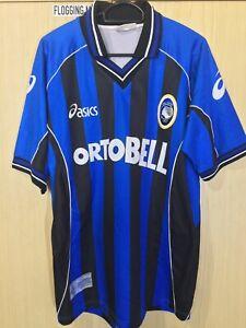 atalanta fontana asics calcio jersey de futebol italia camisa l vintage trikot ebay ebay